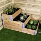 Three Tier Stackable Raised Bed