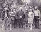 Adrian Bloom, Mary Fox, Laurence Flatman, Alan Bloom, Maurice Prichard, Flora Bloom, Robert Bloom.