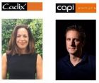 Kate Ebbens and Toine van de Ven, Capi managing director