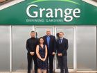 Grange marketing team: Peter Holloway, Julie Hall, Mark Morris and Rob Giles.