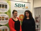 Ioana Codreanu, assistant brand manager and Angharad James, marketing assistant.