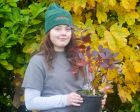 Levina Bromwich starts a 2 year apprenticeship at Wyevale Nurseries