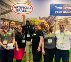 NMBS Show 2019 - Emma (third from left) & Kerry (second from right) with ArtificialGrass.com team