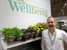 Farplants' Brett Avery with the Wellbeing promotion