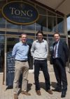 The new owners of Tong with Jonathan Holmes
