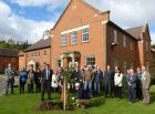 HTA staff join members of the Amenity Suppliers group for the tree planting