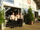 The Rosebourne team: Neville Prest, Val Kempster, Salim Sajid and Jon Kitching