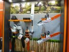 Stihl Lithium-Ion products on show at Glee