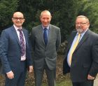 L-R: Daniel Wilkinson, MD, Mark Butler, new sales manager & Colin Wetherley-Mein, sales manager.
